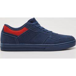 Buty skate męskie: Skórzane buty sportowe - Granatowy