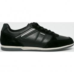 Geox - Buty. Czarne buty skate męskie Geox, z materiału. W wyprzedaży za 399,90 zł.