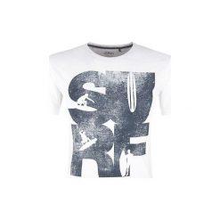 T-shirty męskie z nadrukiem: S.Oliver T-Shirt Męski S Biały