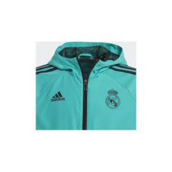 Bluzy dresowe Dziecko adidas  Bluza wyjściowa Real Madryt. Niebieskie bluzy chłopięce marki Adidas, z dresówki. Za 209,30 zł.