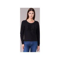 Swetry Armani jeans  IKONOTE. Czarne swetry klasyczne damskie Armani Jeans, z jeansu. Za 671,30 zł.