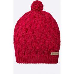 Columbia - Czapka Alpine Beauty Hat. Czerwone czapki zimowe damskie Columbia, na zimę, z dzianiny. W wyprzedaży za 59,90 zł.