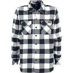 Dickies Sacramento Koszula czarny. Szare koszule męskie na spinki marki Dickies, na zimę, z dzianiny. Za 199,90 zł.