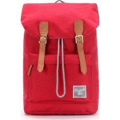 Plecaki męskie: Plecak w kolorze czerwonym – 28 x 42 x 12 cm