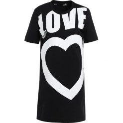 Odzież damska: Love Moschino DRESS Sukienka z dżerseju black