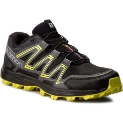 Buty SALOMON - Speedtrak 394700 27 W0 Black/Magnet/Sulphur Spring. Czarne buty do biegania męskie marki Salomon, z gore-texu, na sznurówki, gore-tex. W wyprzedaży za 349,00 zł.
