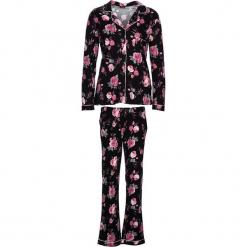 """Piżama """"Classy Dreams"""" w kolorze różowo-czarnym. Białe piżamy damskie marki LASCANA, w koronkowe wzory, z koronki. W wyprzedaży za 136,95 zł."""