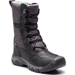 Śniegowce KEEN - Hoodoo III Tall 1019915 Black/Magnet. Czarne buty zimowe damskie Keen, z materiału. W wyprzedaży za 449,00 zł.