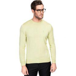 Sweter PIETRO SWZGGxx-0011SP. Zielone swetry klasyczne męskie marki Giacomo Conti, na lato, m, z kaszmiru. Za 199,00 zł.