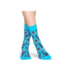 Skarpetki Happy Socks  PAI01-6001. Czerwone skarpetki męskie Happy Socks, z bawełny. Za 24,43 zł.