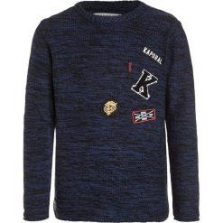 Kaporal NITRO Sweter deep blue. Niebieskie swetry dziewczęce Kaporal, z bawełny. W wyprzedaży za 174,30 zł.