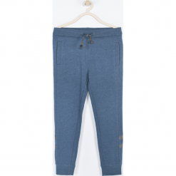 Spodnie. Niebieskie spodnie chłopięce SPEEDWAY, z bawełny. Za 65,90 zł.