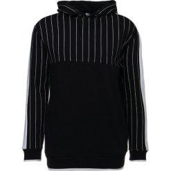 Bejsbolówki męskie: Topman PIN STRIPE Bluza z kapturem black