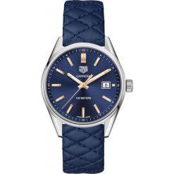 ZEGAREK TAG HEUER CARRERA LADY WAR1112.FC6391. Czarne zegarki damskie marki KALENJI, ze stali. Za 7500,00 zł.