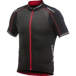 Craft wydajność poświata rower Koszulka men_black / red_s. Czerwone odzież rowerowa męska Craft, m, z jersey, rowerowe. Za 220,23 zł.