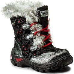 Kozaki dziewczęce: Śniegowce BARTEK – 21528/EAA Czarny