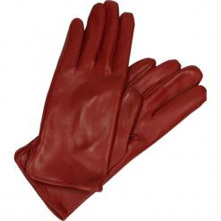 Rękawiczki - 228 P RUBINO. Brązowe rękawiczki damskie Venezia, ze skóry. Za 179,00 zł.
