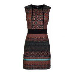 Desigual Sukienka Damska Sm Birmania 34 Czerwony. Czerwone sukienki marki Desigual. W wyprzedaży za 269,00 zł.