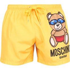 Kąpielówki męskie: MOSCHINO SWIM Szorty kąpielowe yellow