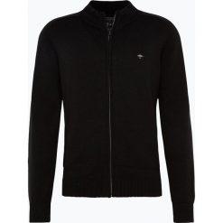 Swetry rozpinane męskie: Fynch Hatton – Kardigan męski, czarny