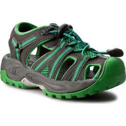 Sandały CMP - Kids Aquarii Hiking Sandal 3Q95474 Grey U862. Zielone sandały chłopięce CMP, z materiału. Za 139,00 zł.