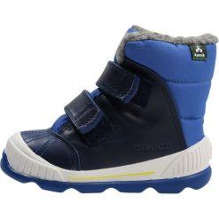 Kamik PARKER Śniegowce blue. Niebieskie buty zimowe damskie marki Kamik, z materiału. W wyprzedaży za 194,35 zł.