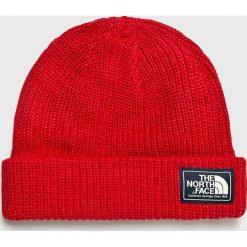 The North Face - Czapka. Czerwone czapki zimowe męskie The North Face, na zimę, z bawełny. W wyprzedaży za 99,90 zł.