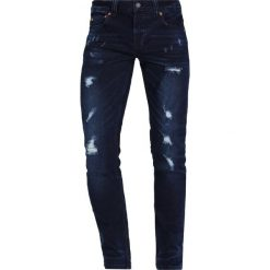 Only & Sons ONSWARP Jeans Skinny Fit dark blue denim. Niebieskie rurki męskie marki Tiffosi. W wyprzedaży za 135,20 zł.