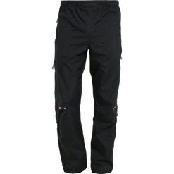 Spodnie sportowe damskie: Berghaus Spodnie materiałowe black