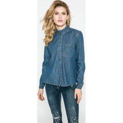 Noisy May - Koszula. Szare koszule jeansowe damskie marki Noisy May, l, klasyczne, z klasycznym kołnierzykiem, z długim rękawem. W wyprzedaży za 59,90 zł.