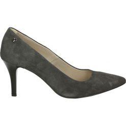 Czółenka - 2647 GR30 J18. Szare buty ślubne damskie Venezia, ze skóry. Za 299,00 zł.