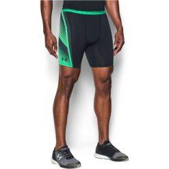 Spodenki sportowe męskie: Under Armour Spodenki męskie Supervent Black/Green r. L (1289573002)