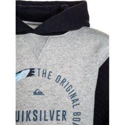 Quiksilver BUNDSY HOODY  Bluza z kapturem navy blazer. Szare bluzy chłopięce rozpinane marki Quiksilver, krótkie. W wyprzedaży za 170,10 zł.