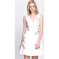 Sukienki: Kremowa Sukienka Love Shy
