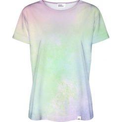 Colour Pleasure Koszulka damska CP-030 199 zielona r. XS/S. Fioletowe bluzki damskie marki Colour pleasure, uniwersalny. Za 70,35 zł.