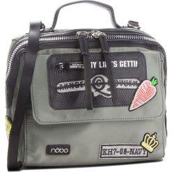 Torebka NOBO - NBAG-F1570-C008 Zielony. Zielone torebki klasyczne damskie marki Nobo, z materiału. W wyprzedaży za 159,00 zł.