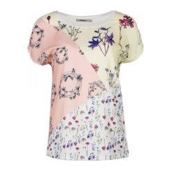 Desigual T-Shirt Damski Ambrosine S Biały. Białe t-shirty damskie marki Desigual, s. W wyprzedaży za 169,00 zł.