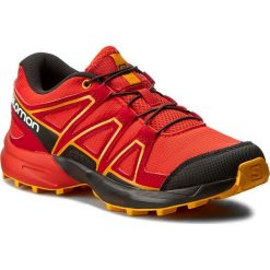 Buty trekkingowe chłopięce: Trekkingi SALOMON – Speedcross J 392383 09 M0 Fiery Red/Black/Bright Marigold