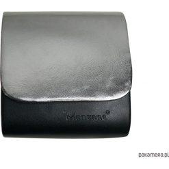 Kopertówki damskie: Mini kopertówka koperta MANZANA czarno złota