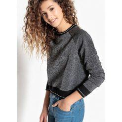 Krótka bluza 10-16 lat. Czarne bluzy dziewczęce La Redoute Collections, z bawełny, z długim rękawem, długie. Za 69,26 zł.