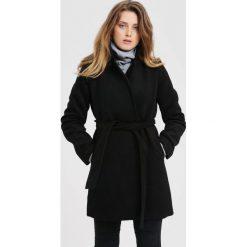Czarny Płaszcz Stop The Shiver. Czarne płaszcze damskie zimowe marki other, xl. Za 299,99 zł.