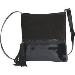 Torebki klasyczne damskie: Torebka w kolorze czarnym – (S)30 x (W)30 x (G)10 cm