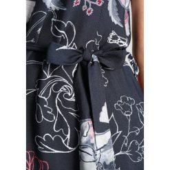 Ivko DRESS FLORAL Sukienka letnia anthrazit. Szare sukienki letnie Ivko, z materiału. W wyprzedaży za 567,20 zł.