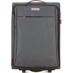 Walizka kabinowa 56-3S-461-00. Szare walizki marki Wittchen, małe. Za 179,00 zł.