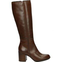 Buty zimowe damskie: Kozaki - ST7009 VIT TA