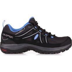 Buty trekkingowe damskie: Salomon Buty damskie Ellipse 2 GTX W Asphalt/Black/Petunia Blue r. 40 (381629)