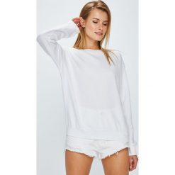 Review - Bluza. Szare bluzy damskie marki Review, l, z tkaniny, z okrągłym kołnierzem. Za 119,90 zł.