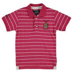 T-shirty chłopięce z krótkim rękawem: Koszulka polo w kolorze różowym