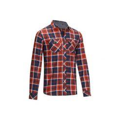 Koszula jeździecka Sentier męska. Brązowe koszule męskie na spinki marki LIGNE VERNEY CARRON, m, z bawełny. W wyprzedaży za 79,99 zł.