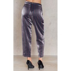 Spodnie damskie: Trendyol Spodnie Mor - Purple,Multicolor